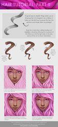 Hair Tutorial: Part 1 by CosmosKitty