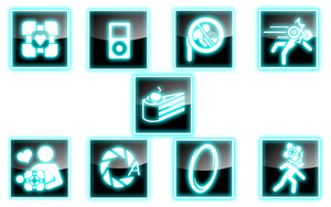 Portal Icons 1.0 by WinryBaby