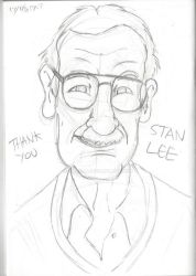 Tribute to Stan Lee by DarylT