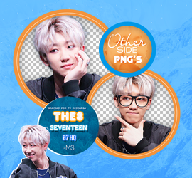 THE8/ SEVENTEEN-PNGpack #1 by MoonSober