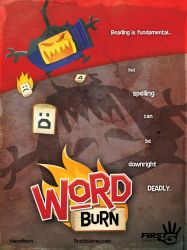 Word Burn Movie Poster (2013) by AllanAlegado