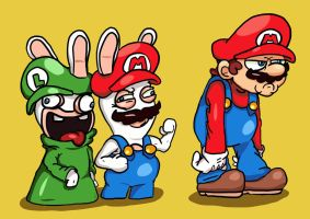 Mario + Rabbids: Unexpected ally by EggmanFan91