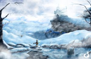Hero of the Snow by KitsuGuardian