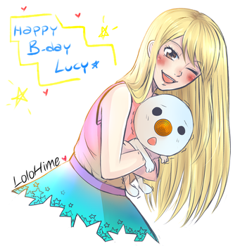Lucy b-day! by LoloHime