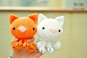 Couple of cats by MissBajoCollection