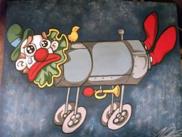 sad clown iron lung gift by AceroTiburon