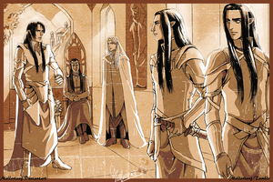 The Council of Rivendell by MellorianJ
