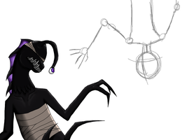 :Wip: remorseful of the side by DrappingMalice