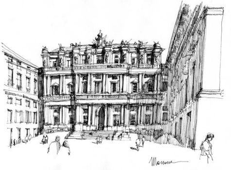 Palazzo ducale a Genova by lucamassone