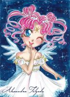 ACEO #07 - Sailor Moon, Chibi Chibi by AlexaFV