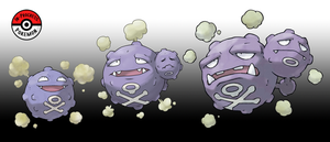 109 - 110 Koffing Line by InProgressPokemon