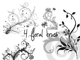floral brush 4 by TheSweetDreams18