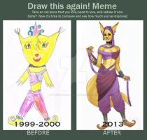 Meme: Draw this again. 2000 - 2013 by BleedingHeartworks