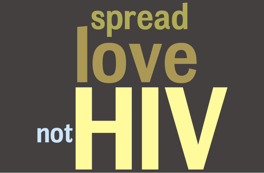 spread love not HIV by squiddyx3