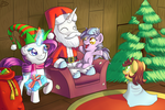 Hearth's Warming and Glad Tidings by ParadigmPizza