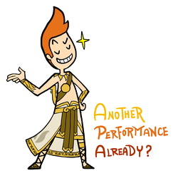 Smite - Another Performance Already? (Chibi) by Zennore