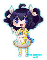 Chibi raffle : utau Reicheru Nintone by the-electric-mage