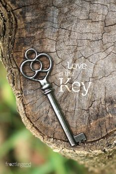 Natural Key - Portrait - Quote by froztlegend