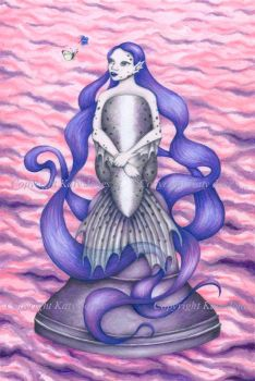 The Mermaid of Rostherne Mere by Flyttamouse