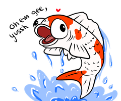 Koi by HandyFox345