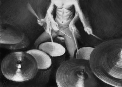 Drummer by Ampty