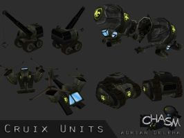 Cruix Various Units 2 by DelphaDesign