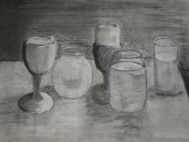 Candle Still Life by Korra