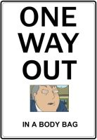 One Way Out Family Guy by AIZ-is-me