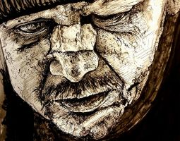 Battered Man in Ink by IsabelleMaria