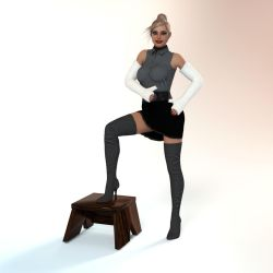 Long arm cast for Genesis 3 Female by rizzo-cast