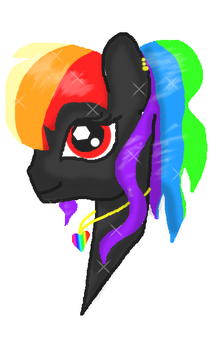 Crystal Pricess Rainbow Hearts by LoveSongStables