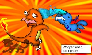 Wooper Used Ice Punch