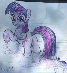 TwilightSparkle At water made by BBQNinja501st