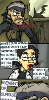 MGS4- Element of Surprise by ZoDy