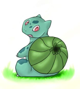 #001 Bulbasaur by kyubifan