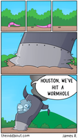 Worm Hole by theodd1soutcomic