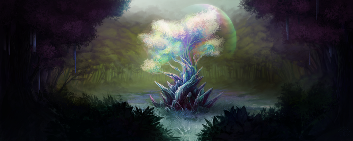 [C] Aether Tree by InduSfera