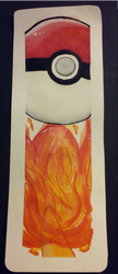 Charmander Bookmark by PocketfulOfWishes
