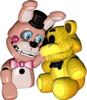Golden plush and sumsum by Summer-Trap