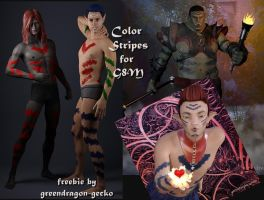 freebie G8M color stripes by greendragon-gecko