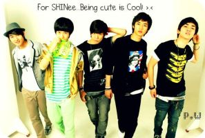 For SHINee...Being cute ish cool by KateW49
