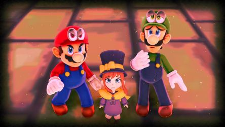 Super Mario-A Hat In Time (1) by EpicMia13