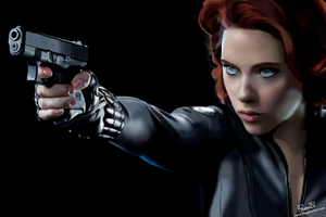 Scarlett Johansson_Black Widow by Rousetta