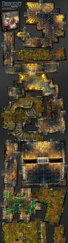 Descent, Labyrinth Of Ruin expansion by henning