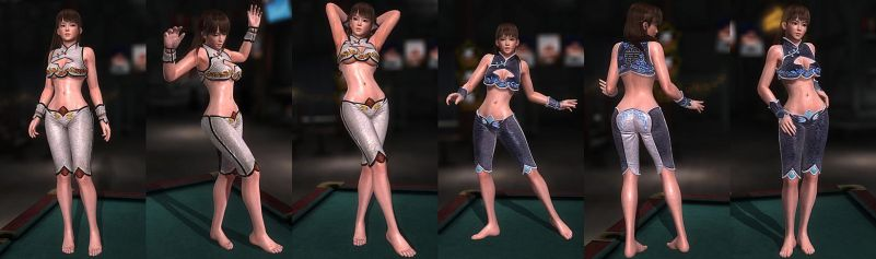 DOA5LR Mod: Legacy Barefoot by repinscourge