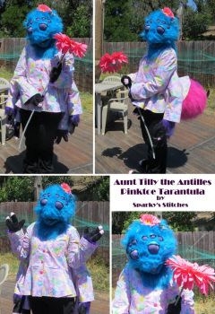 Aunt Tilly Partial Fursuit by NeitherSparky
