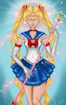 Pretty Guardian Sailor Moon  by JohnnyMorphine