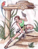 Lara in Action by CarolaFunder
