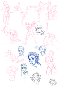 070616 Sketch Dump by justthebutts