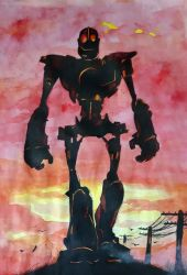 The Iron Giant by Ramscham